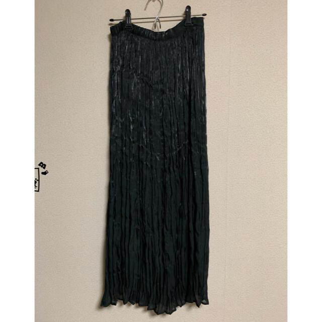 Kastane(カスタネ)のkastane フィラメントサテンスカート レディースのスカート(ロングスカート)の商品写真