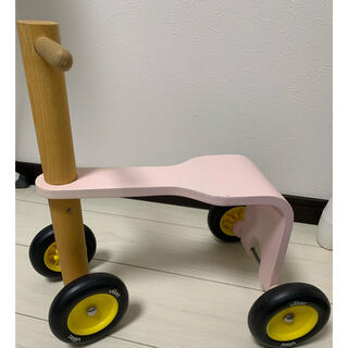 ヴィラック(vilac)のvilac社製 プッシュバイク 木製玩具 入手困難(知育玩具)