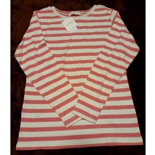 キッドブルー(KID BLUE)の新品未使用!KIDBLUE キッドブルー ロンT ピンクボーダー(Tシャツ(長袖/七分))