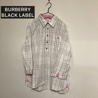 BURBERRY BLACK LABEL - バーバリーブラックレーベル チェックシャツ 2