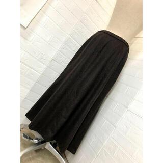 ハーディエイミス(HARDY AMIES)のHARDY AMIES LONDON サイズ42 カシミヤ混合 暖か10枚剥ぎ (ロングスカート)