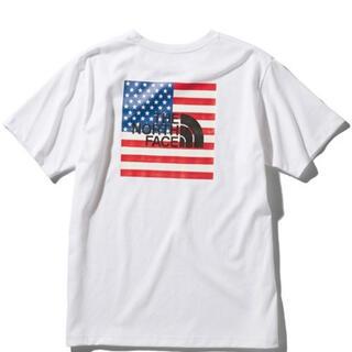 THE NORTH FACE - ノースフェイス ナショナルフラッグロゴTシャツ