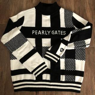 PEARLY GATES - パーリーゲイツ☆チェック柄ニット