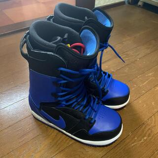 ナイキ(NIKE)のmimi様専用 NIKE SB VAPEN 25.5cm 黒×青(ブーツ)