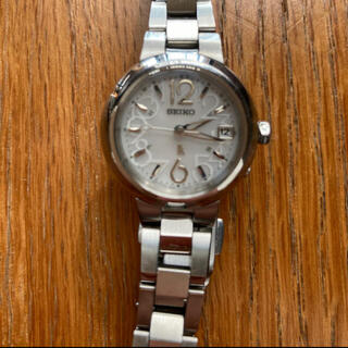 セイコー(SEIKO)のルキア セイコー SEIKO 電波ソーラー 腕時計 レディース(腕時計)