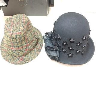 カシラ(CA4LA)の帽子2つセット イタリアインポート(ハット)