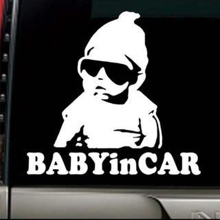 ベビーインカー 赤ちゃん ステッカー キッズインカー (その他)