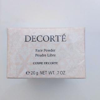 COSME DECORTE - 【新品未開封】コスメデコルテ フェイスパウダー#00 20g