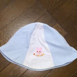 ホットビスケッツ(HOT BISCUITS)のミキハウス ホットビスケット 夏用の帽子 サイズ50(帽子)