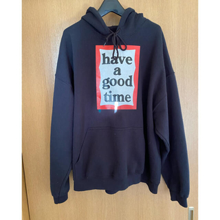 BEAMS - have a good time◆パーカー☆XL☆コットン/BLK/