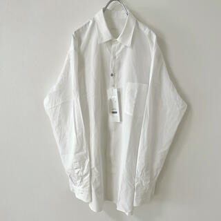 COMOLI - 定価以下!新品タグ付き 21ss comoli コモリシャツ サイズ3