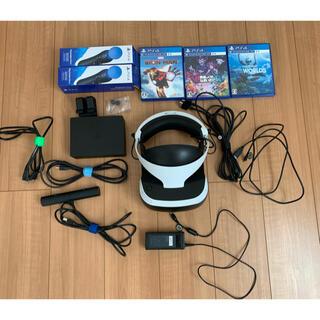 プレイステーションヴィーアール(PlayStation VR)のPSVR モーションコントローラー2本 ソフト3本セット(家庭用ゲーム機本体)