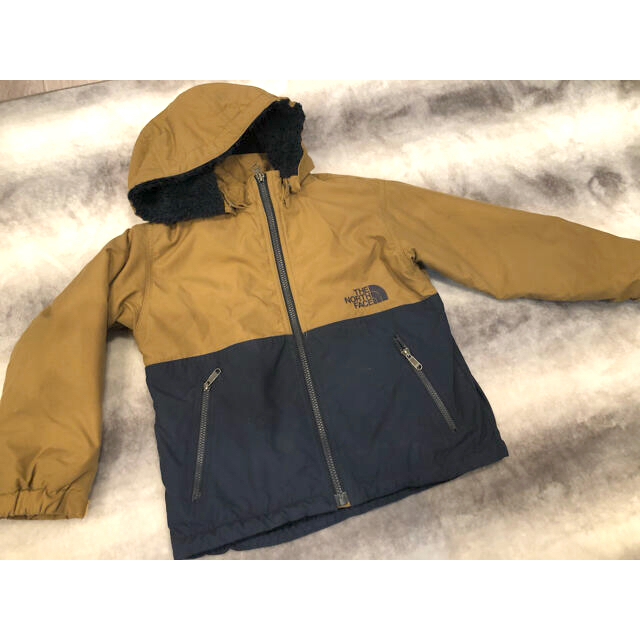 THE NORTH FACE(ザノースフェイス)の美品 ザノースフェイス  ボアブルゾン ジャンバー アウター キッズ/ベビー/マタニティのキッズ服男の子用(90cm~)(ジャケット/上着)の商品写真