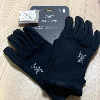 アークテリクス(ARC'TERYX)のアークテリクス ARC'TERYX  ベンタグローブ ブラック  Lサイズ(手袋)