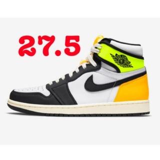 NIKE - Nike Air Jordan 1 Volt Gold  27.5cm