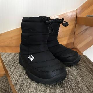 THE NORTH FACE - North Face ヌプシ ブーツ 21cm KIDS