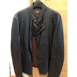アルマーニエクスチェンジ(ARMANI EXCHANGE)のアルマーニエクスチェンジ 革ジャン(ライダースジャケット)