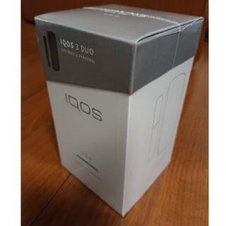 IQOS - 【新品☆未開封】IQOS3 DUO ベルベットグレー