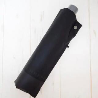 バーバリー(BURBERRY)の新品 BURBERRY バーバリー 折りたたみ傘 雨傘 ロゴ 黒灰(傘)