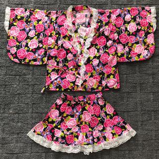 甚平 子供服 女の子(甚平/浴衣)