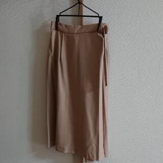 プラステ(PLST)の【新品】PLST  ウォッシャブル ミモレスカート(ひざ丈スカート)