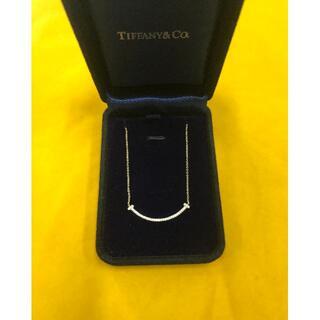 Tiffany & Co. - ティファニー T スマイルペンダント
