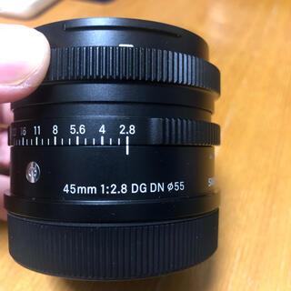 シグマ(SIGMA)のSIGMA contemporary 45mm f2.8 DG DN Lマウント(レンズ(単焦点))
