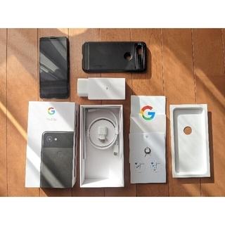 Google Pixel - 美品 PIXEL 3a SIMフリー、SPIGENケース付き