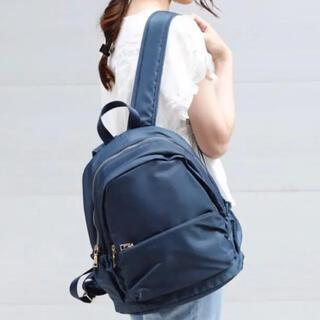 プレーンクロージング(PLAIN CLOTHING)のplain clothing  リュック ネイビー(リュック/バックパック)