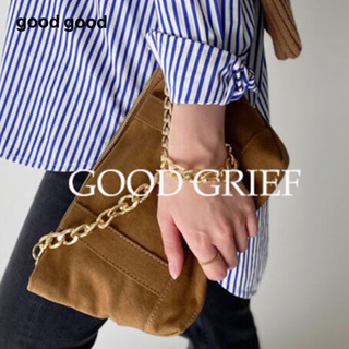 L'Appartement DEUXIEME CLASSE - GOOD GRIEF グッドグリーフ Canvas Cluch Bag(S)