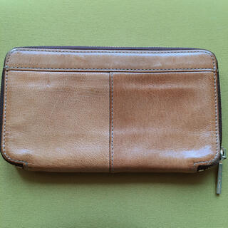 ジャマンピュエッシュ(JAMIN PUECH)のJAMIN PUECH 革製長財布カーキ(財布)