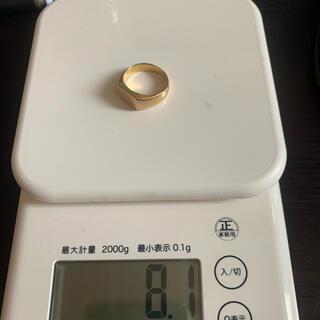 k18 指輪 刻印あり 8g(リング(指輪))