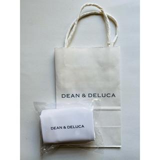 DEAN & DELUCA - 【新品未使用】DEAN & DELUCA ミニマムエコバッグホワイト