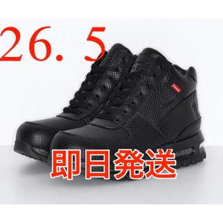 シュプリーム(Supreme)のSUPREME × NIKE AIR MAX GOADOME ゴアドーム 黒(スニーカー)