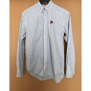 Ralph Lauren - ラルフローレン綿100%  ストライプシャツ キッズ  160センチ