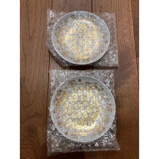 イッタラ(iittala)の東屋 印判小皿 カッコー金彩 クラウス ハーパニエミ(食器)