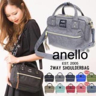 anello - 【アネロ】【新品・未開封】ショルダー付ポシェット・ブラック