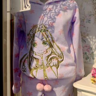 ディズニー(Disney)のラプンツェル ルームウェア パジャマ セットアップ(ルームウェア)