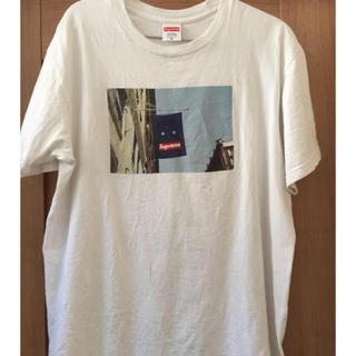 Supreme - supreme シュプリーム バナー banner tee Tシャツ M