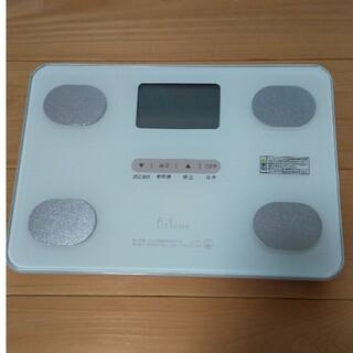 タニタ(TANITA)のタニタ 体重 体組成計 ホワイト FS-102 WH フィットスキャン (体重計/体脂肪計)