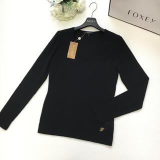 Gucci - 【新品未使用】GUCCI グッチ カシミヤ100% ブラック セーター Vネック