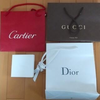 カルティエ(Cartier)のDior GUCCI Cartier ショップ袋など(ショップ袋)