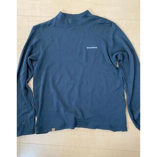 モンベル(mont bell)のモンベル メリノウールプラス ハイネックシャツ 黒(ニット/セーター)
