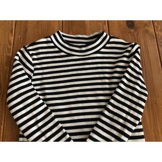 ブランシェス(Branshes)のbranshes ブランシェス 150 テレコ ハイネックTシャツ(Tシャツ/カットソー)