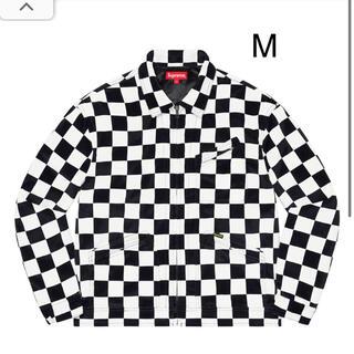 Supreme - Velvet Work Jacket M