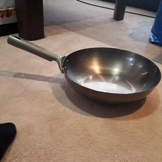 ユニフレーム(UNIFLAME)のユニフレーム チタン中華鍋26cm(調理器具)