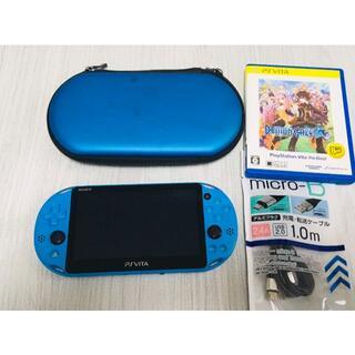 PlayStation Vita - ■PS VITA PCH-2000本体 アクアブルー