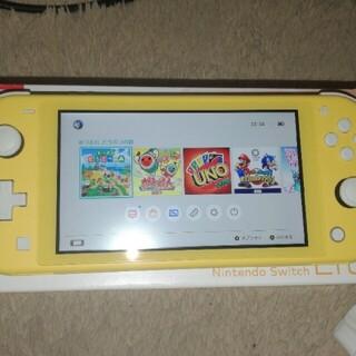【ダウンロード版あつ森付き】Nintendo Switch Lite イエロー