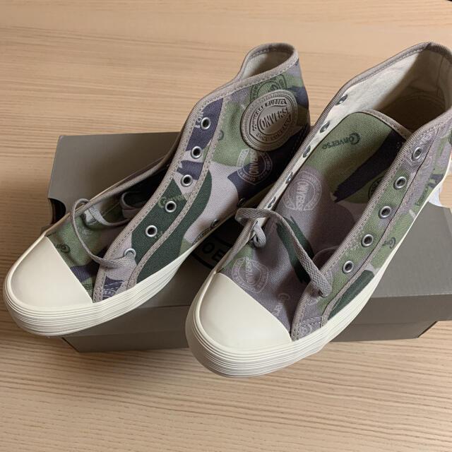 CONVERSE(コンバース)の新品未使用*コンバース*ハイカット*BIG C*25cm レディースの靴/シューズ(スニーカー)の商品写真
