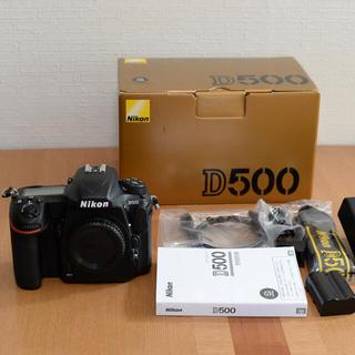 Nikon - Nikon D500 ボディ 美品 使用少